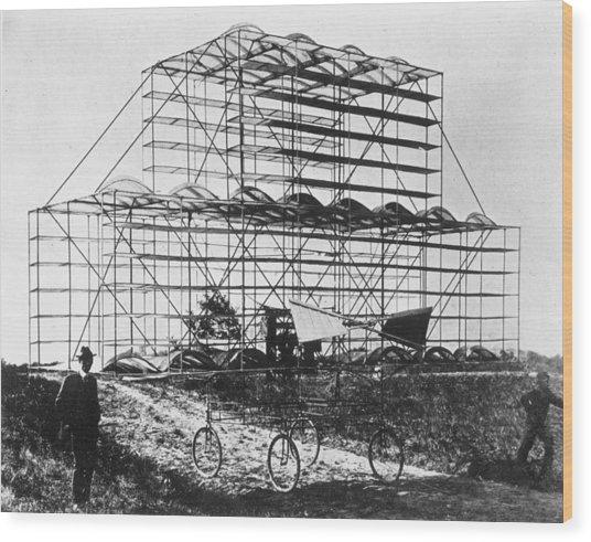 Roshon Multiplane Wood Print by Hulton Archive
