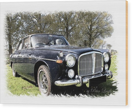 Rover 3.5 Coupe Wood Print