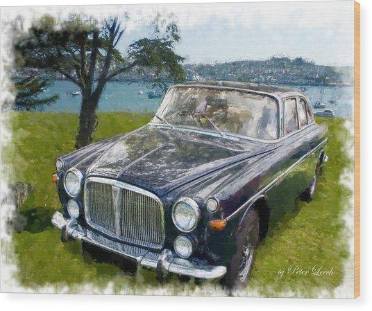 Rover 3.5 P5b Wood Print