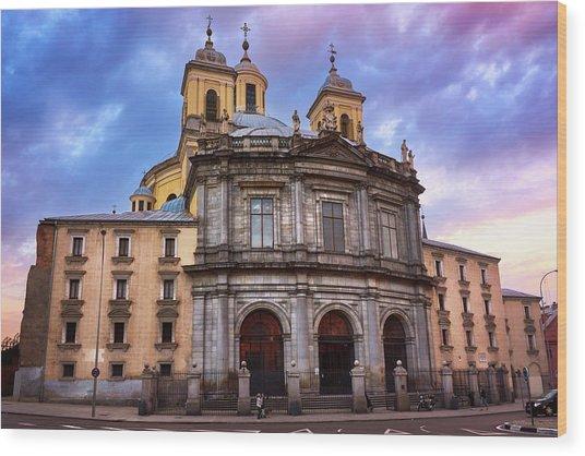 Royal Basilica Of San Francisco El Grande Wood Print