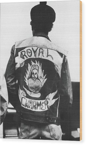 Royal Charmer Wood Print by Fred W. McDarrah