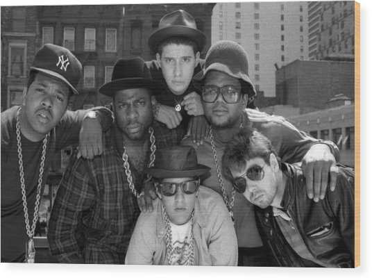Run-dmc & Beastie Boys Wood Print