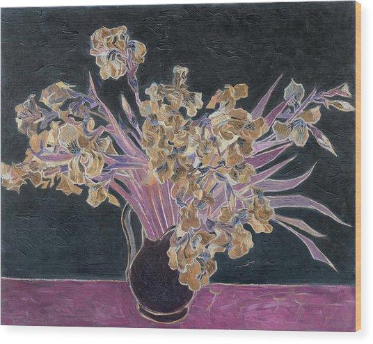 Rustic II Van Gogh Wood Print