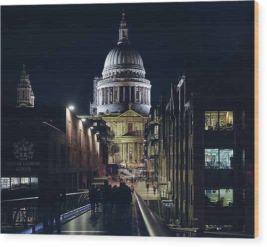 Saint Pauls Cathedral Wood Print