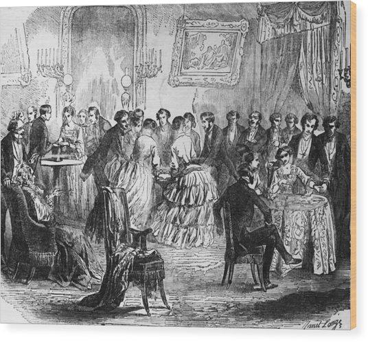Salon De Paris Wood Print by Hulton Archive