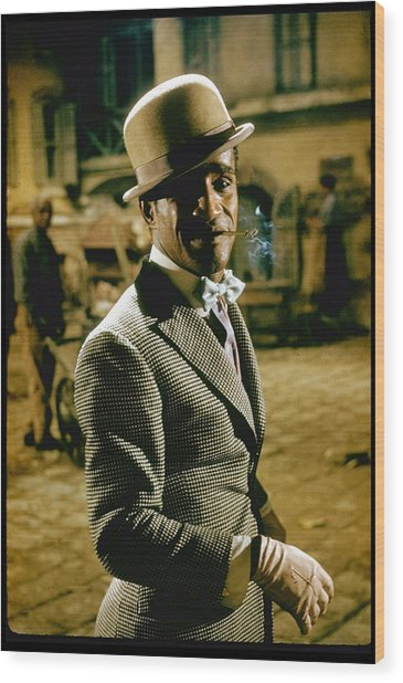 Sammy Davis Jr. In Porgy & Bess Wood Print by Gjon Mili