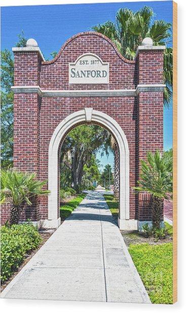 Sanford Arch-8010 Wood Print