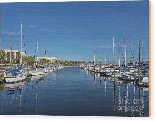 Sanford-marina-6692 Wood Print
