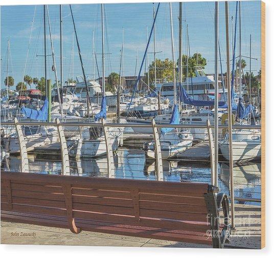 Sanford Riverwalk-6701-a Wood Print
