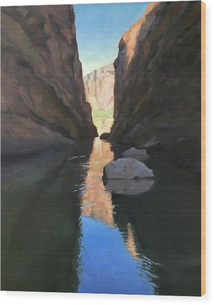 Santa Elena Canyon, Big Bend Wood Print