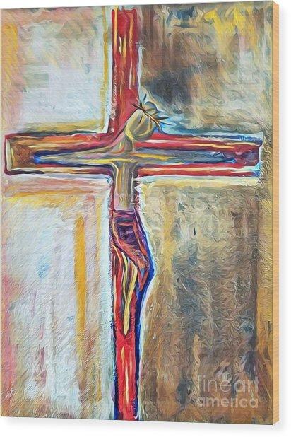 Saviour Wood Print