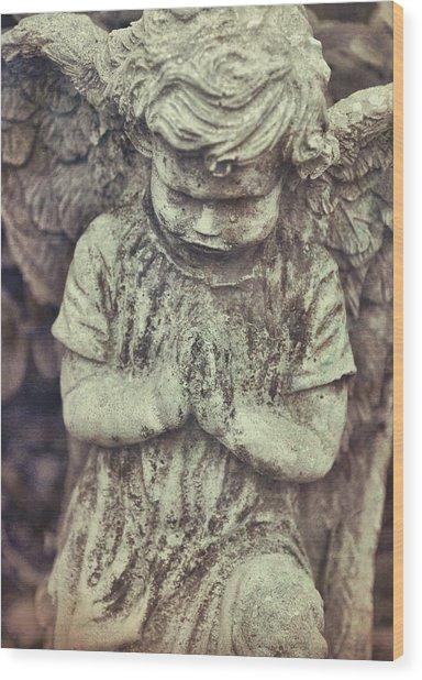 Say A Little Prayer Wood Print
