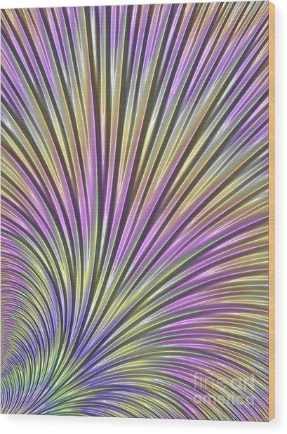 Scallop Wood Print