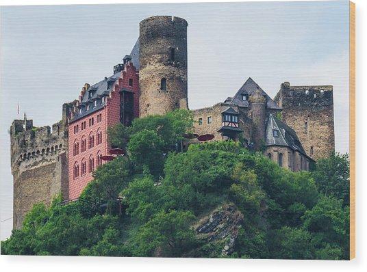Schonburg Castle Wood Print