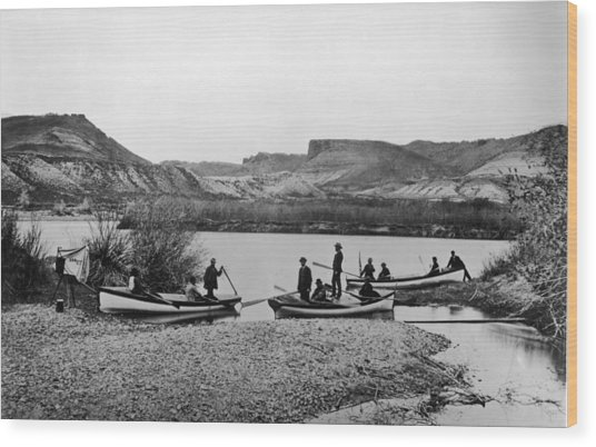 Second Colorado Expedition Wood Print by Getty Images