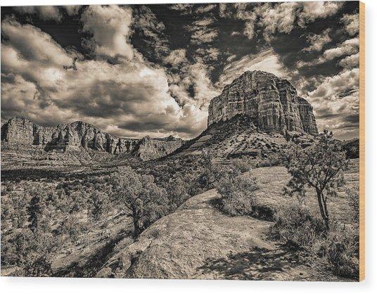 Sedona Landscape 2 Wood Print