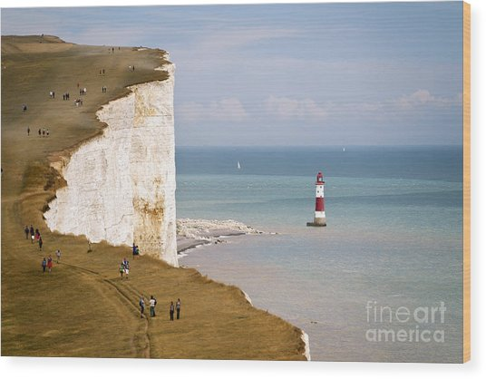 Seven Sisters National Park, View Of Wood Print