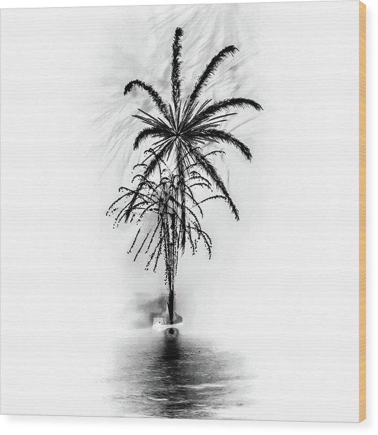 Shades Of Grey Collection Set 02 Wood Print