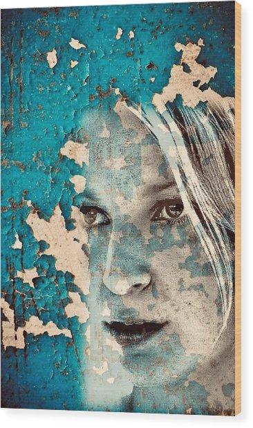 Sia Wood Print