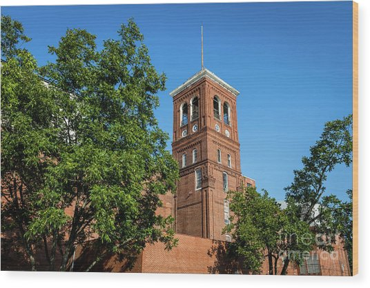 Sibley Mill Augusta Ga Wood Print