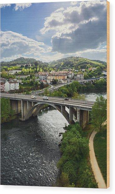 Sights From The Millennium Bridge Wood Print