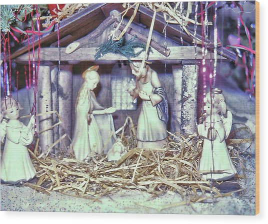 Silent Night Holy Night Wood Print by JAMART Photography
