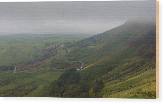 Shivering Mountain,  Wood Print