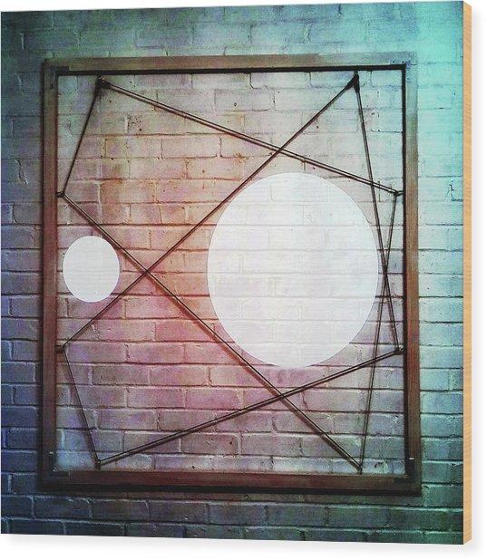 Six - Wall Wood Print
