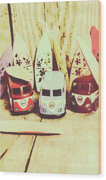 Sixties Dreaming Wood Print