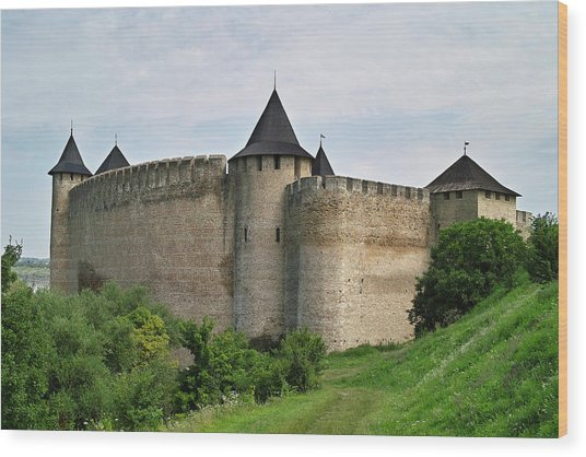 Smells Like Medieval. Khotyn, 2010. Wood Print