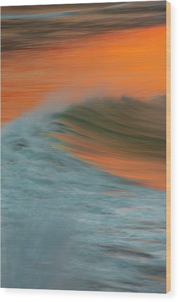 Soft Wave Wood Print