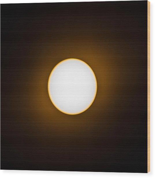 Solar Wood Print by Christine Buckley