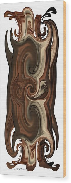 Wood Print featuring the digital art Something Different by Roy Erickson