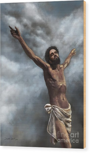 Son Of God Wood Print