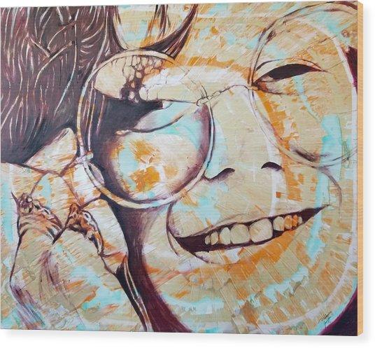 Soul Sister Wood Print