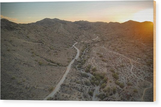South Mountain Canyon Wood Print