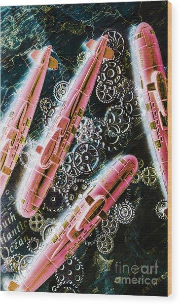 Southern Submarines  Wood Print