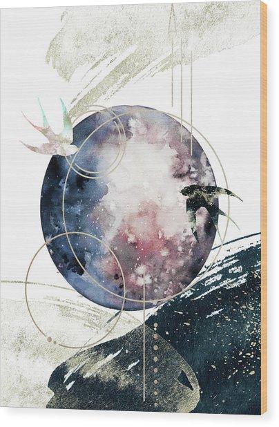 Space Operetta Wood Print