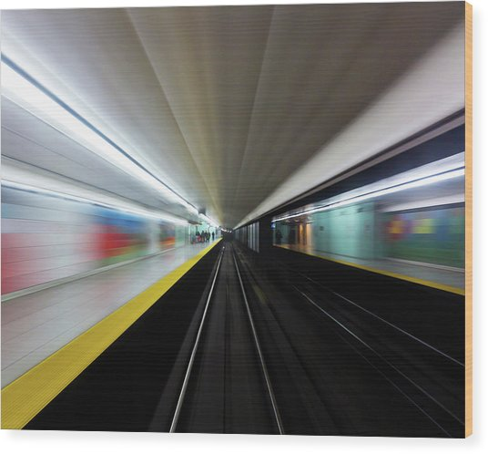 Wood Print featuring the photograph Speed 2 by Brian Carson