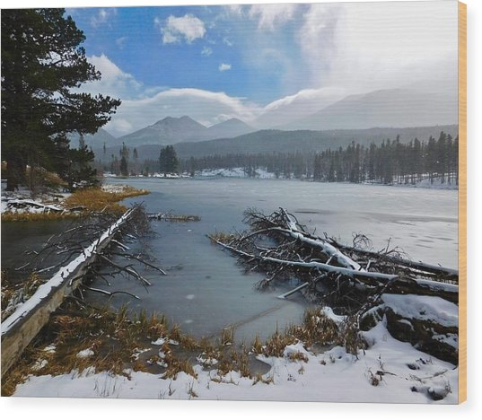 Wood Print featuring the photograph Sprague Lake by Dan Miller