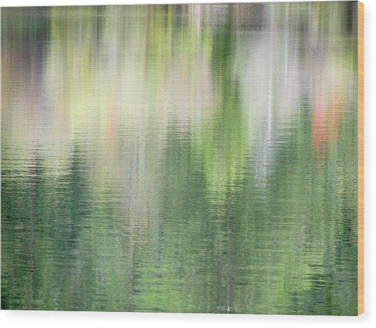 Spring Lake_3874_12 Wood Print