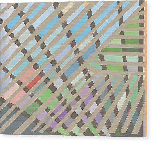 Springpanel Wood Print