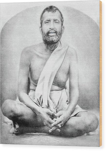 Sri Ramakrishna Wood Print