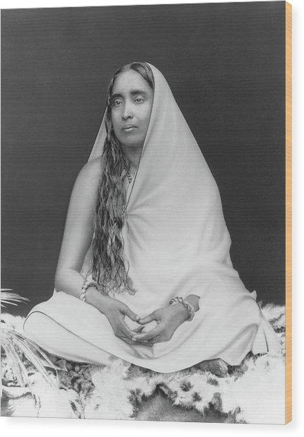 Sri Sarada Devi Wood Print