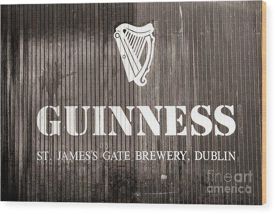 St. James Gate Brewery Dublin Wood Print