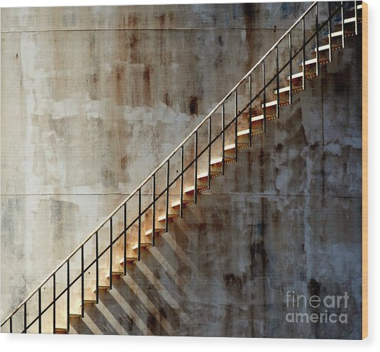 Staircase 2017 Wood Print