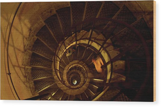 Wood Print featuring the photograph Stairs by Edward Lee
