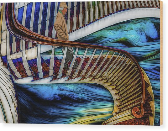 Stairway To Perdition Wood Print