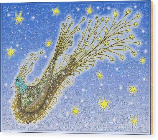 Starbird Wood Print