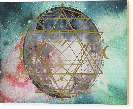 Starchild Wood Print